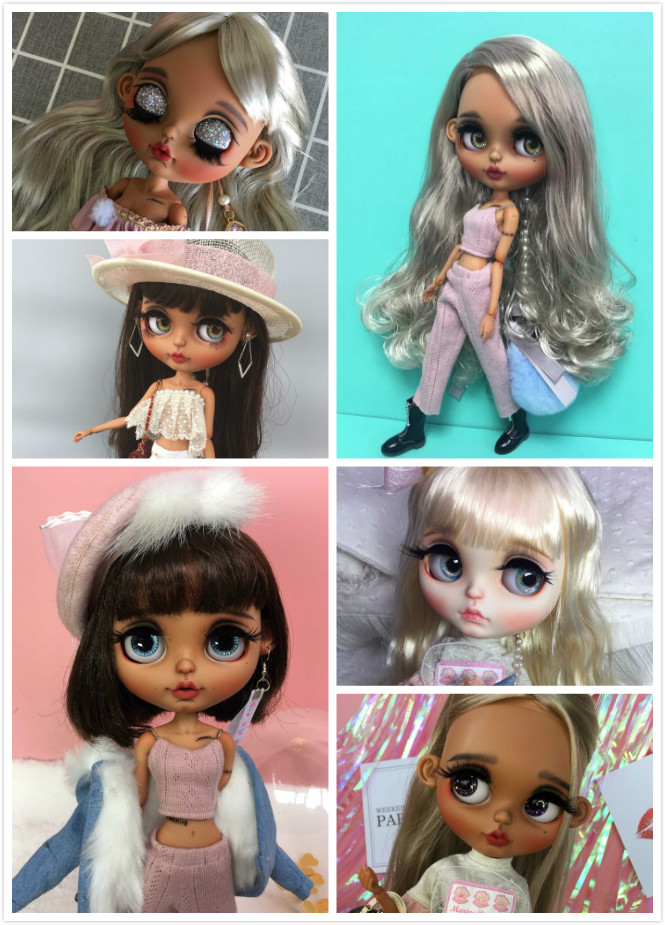 Blyth meisje Aangepaste pop GEEN. WTR20-in Poppen van Speelgoed & Hobbies op  Groep 1