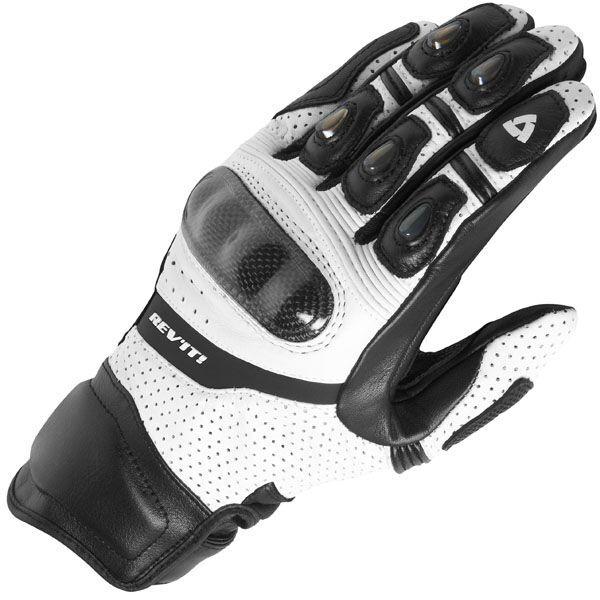 New 2018 Revit Motorcycle Gloves Motocross Road Racing Gloves Genuine Leather Motorbike Gloves Black M XXL