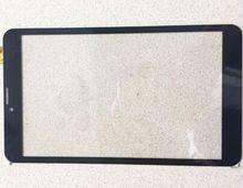 100% Nueva Pantalla Táctil Del Reemplazo Del Digitizador de Cristal de 8 pulgadas para IRBIS TZ853 3G Táctil Capacitiva Externa
