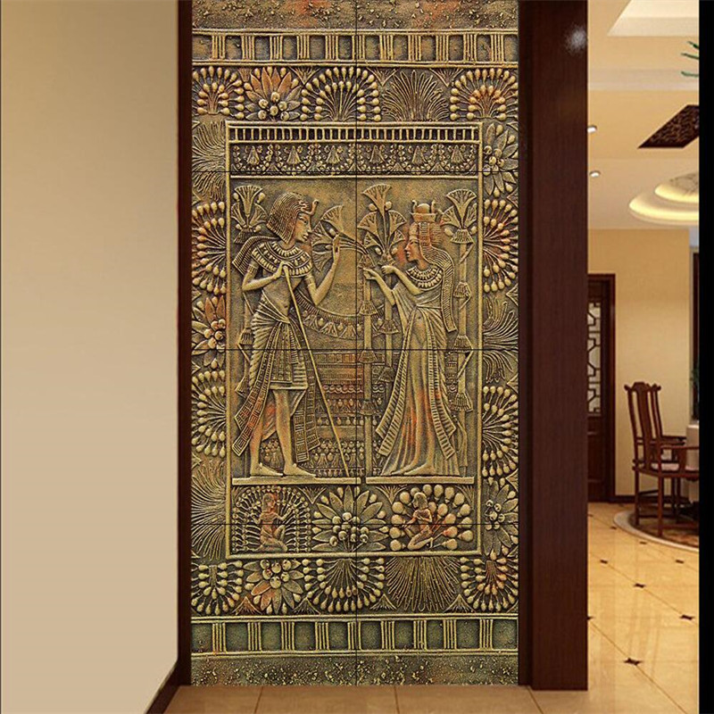 Buy modern art wall painting for living for Egyptian decorations for home