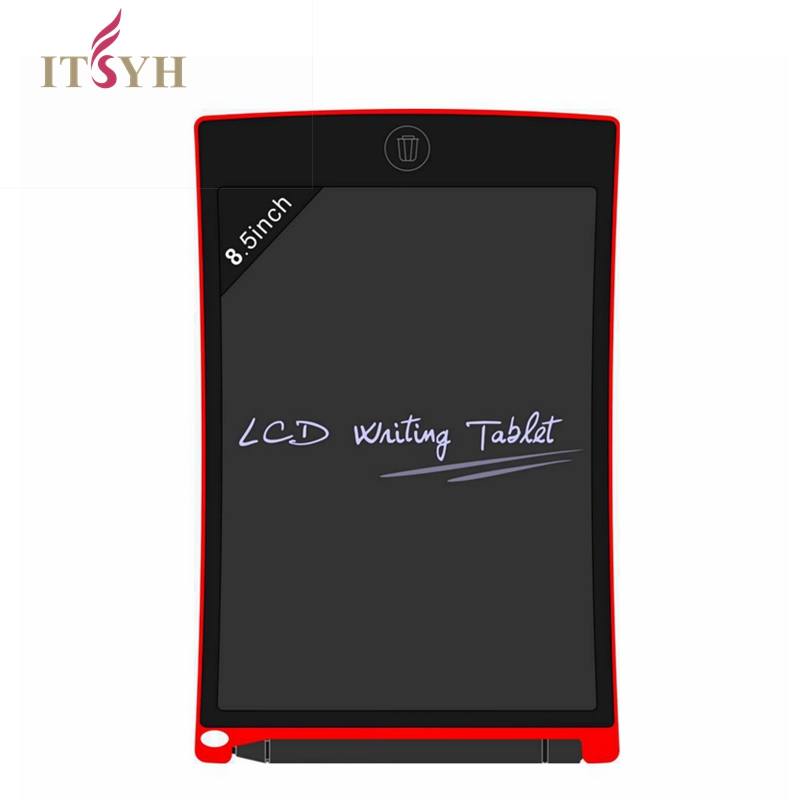 ITSYH 8.5inch Digital LCD Writing Tablet Message board children puzzle Writing Drawing Tablet Writer for Office Home School