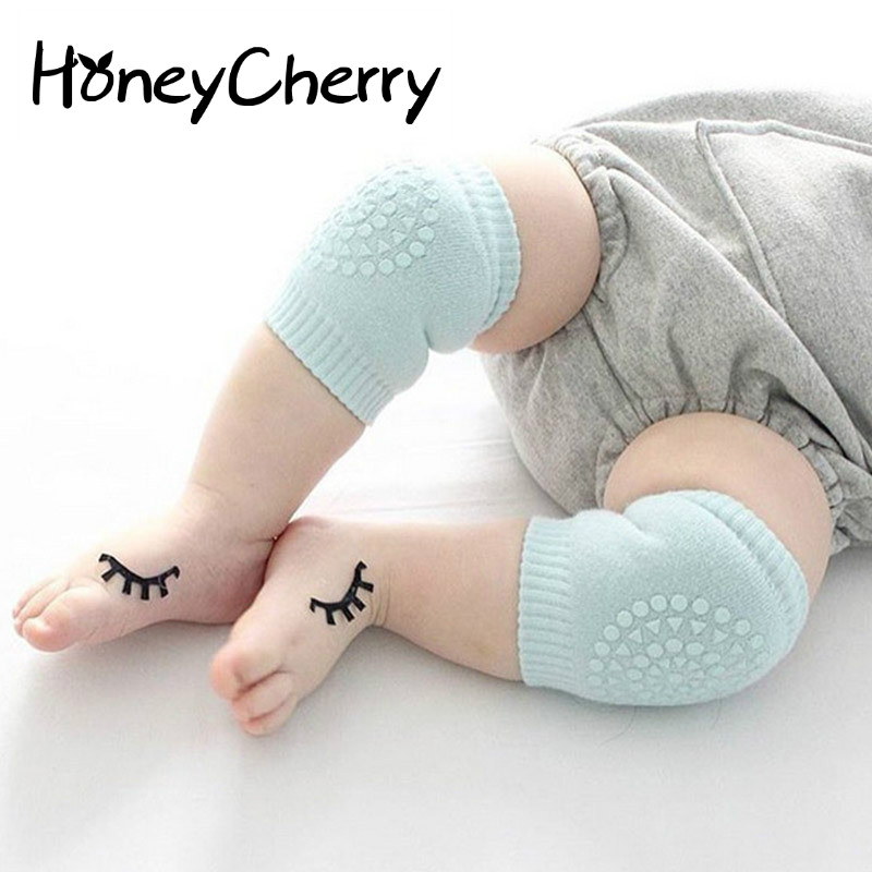 6-24 Month New baby leg warmers crawling baby ankle sock summer baby kneepad slip-resistant knee leg cover baby socks