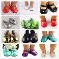 11 различных стилей обуви, пригодный для 18 дюймов American girl кукла милый Американская девушка девушка аксессуары обувь