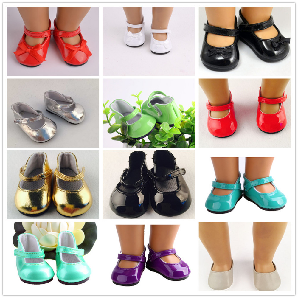 11 Different Styles Of Shoes Fit For 18 Inch American  Doll Cute American Accessories Shoes