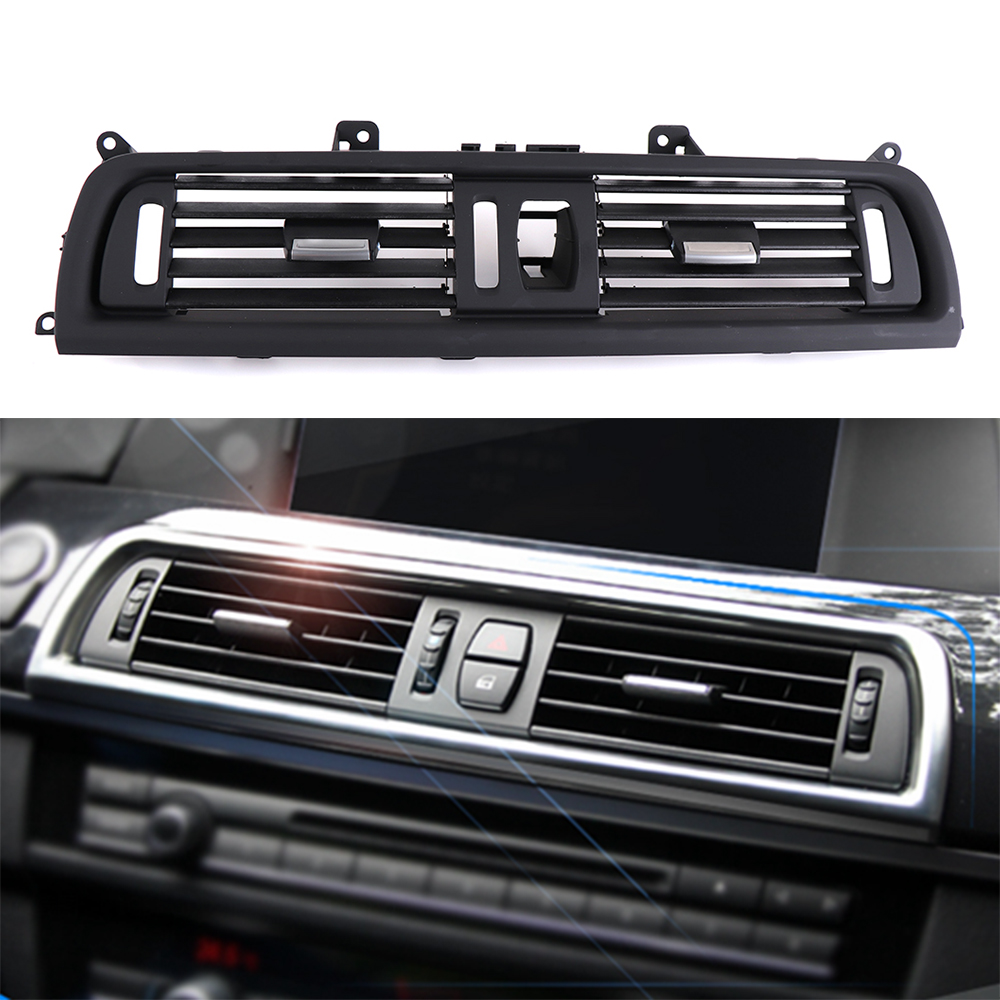 где купить For BMW F10 F11 F18 64229166885 Car Front Console Center Gril Dash AC Air Heater Vent for BMW 5 Series 520 523 525 528 530 535 дешево