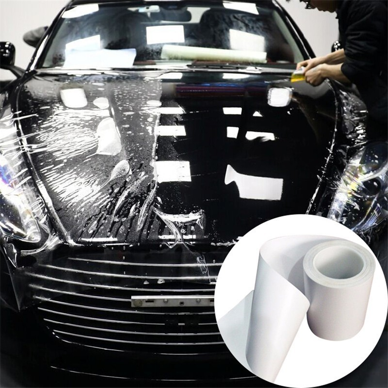 Transparent Vinyl Car Protective Film Rhino Skin Auto Bumper Hood Paint Sticker