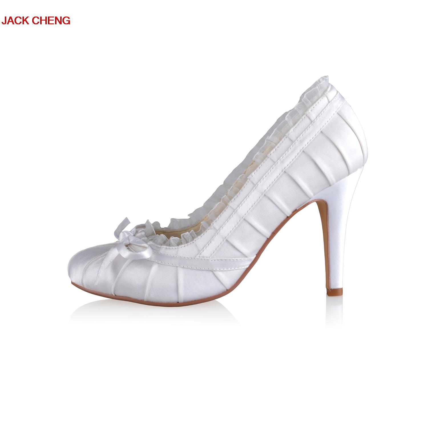 Luxury white flower ballroom dance shoes high heels 2018 new sandals luxury white flower ballroom dance shoes high heels 2018 new sandals for women high heels elegant wedding bridal shoes in womens pumps from shoes on mightylinksfo
