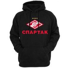 new Russian premier league fc club Spartak Moscow Hoodies sweatshirt  Camiseta Sweatshirts Glushakov Hoodie Cotton tracksuit