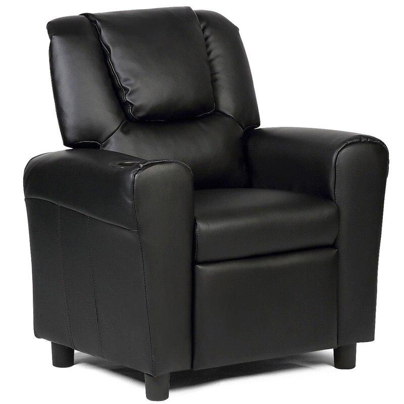 Bed Room PU Sponge Kids Chair Recliner Armchair Sofa Baby Furniture Home Decor HW54210