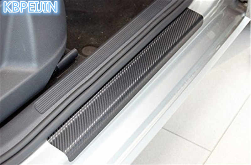 4 stks Autodeur Stickers Carbon Slip Bescherming Film Anti voor Toyota corolla rav4 Yaris prius hilux avensis accessoires