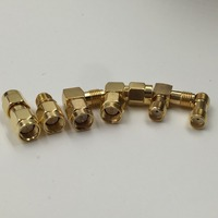 Kit Adapter 6pcs Set SMA To SMA Type Male Female RF Connector Test Converter