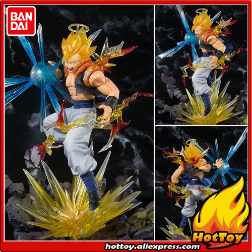 100% Original BANDAI Tamashii Nations Figuarts ZERO Exclusive Collection Figure - Super Saiyan Gogeta from Dragon Ball Z genuine bandai exclusive tamashii nation 10th anniversary s h figuarts dragon ball z son gokou goku kaiohken ver action figure