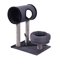 High Quality Cat Scratching Post Luxury Cat Toys Kitten Tunnel House For Cat Spring Mouse Cat