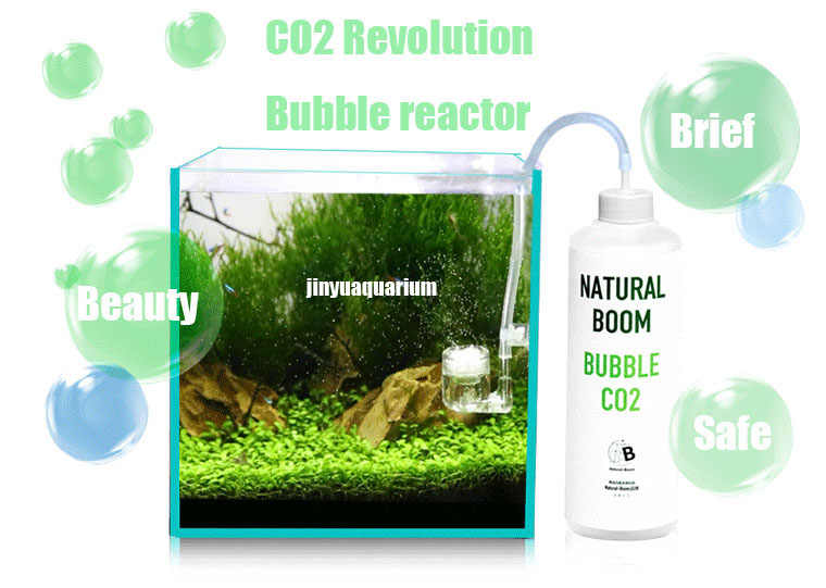 CO2 reactor bubble diffuser atomizer aqua water plant tank