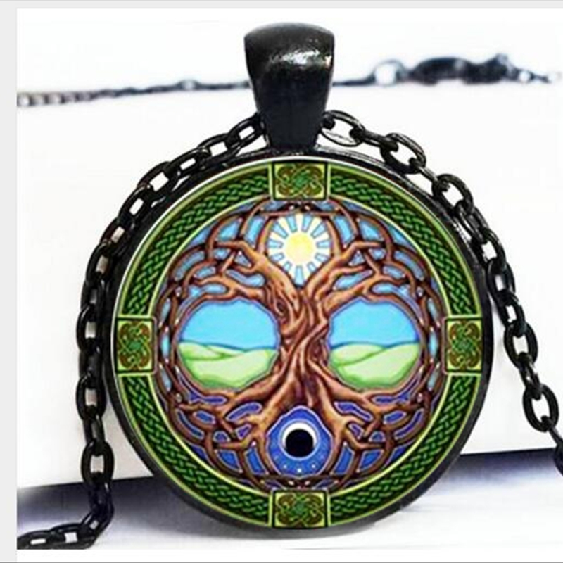 wholesale Tree Of Life Pendant, Sun and moon Tree Of Life Ne…