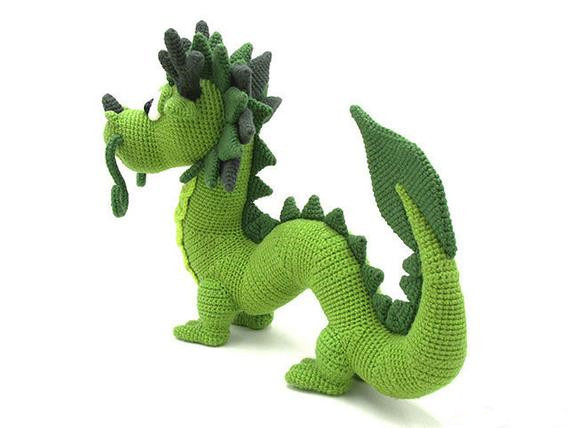Crochet Toys  Amigurumi  Dragon  Model Number B03