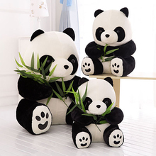 10/16/22CM Climbing Bamboo Panda Doll Stuffed Plush Animal Toy To Give Baby And Girlfriend a Birthday Present