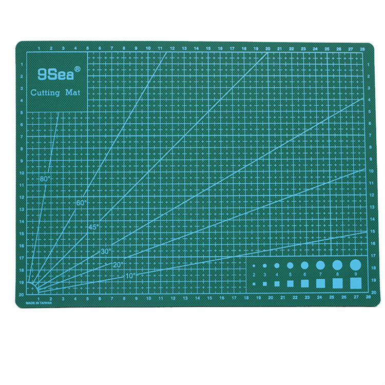 A3/4 Cutting Pad Pvc Double-sided Self-healing Cutting Pad DIY Paper Cutter Mats Patchwork Tools DIY Cutting Mats Supplies