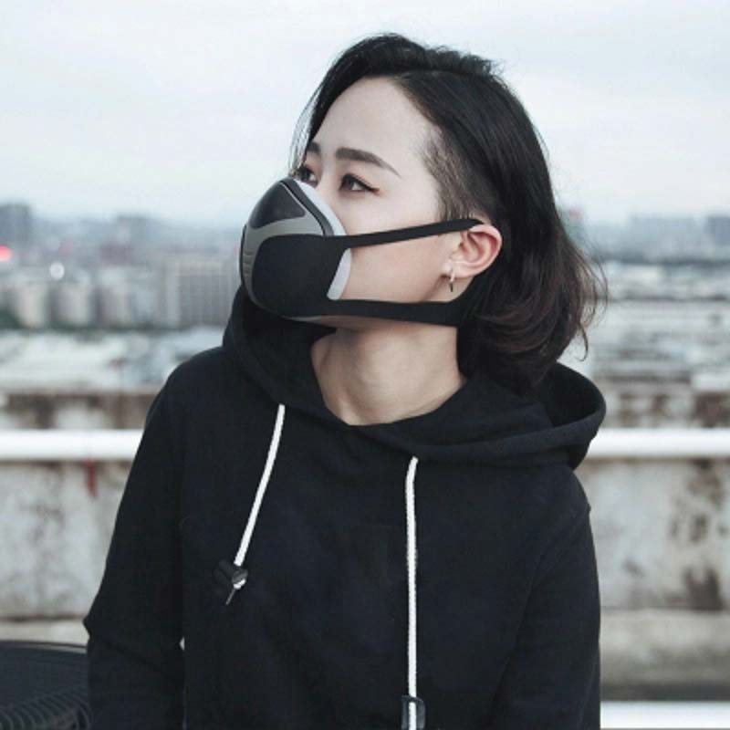 Electric Mask Electronic Masks Battery Operated Respirator Air Supply Does Not Breathe Breathable Easy To Dust And Fog Charge
