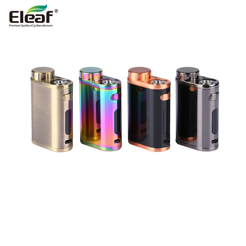 Original Eleaf Istick Pico Mod Electronic Cigarette 75W TC Box Mod Vape No Melo 3 Tank Atomizer NO 18650 Battery  Vaporizer