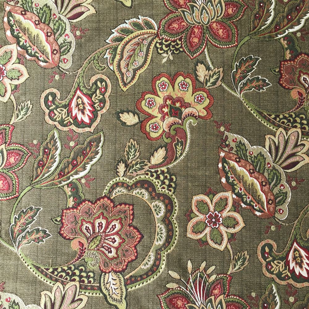 Classic American Style Paisley Jacquard Woven Interior