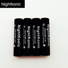 Original  High quality AAA Rechargeable Battery MH 1.2V NI-MH 3A   aaa  Battery  Nightkonic origin Brand