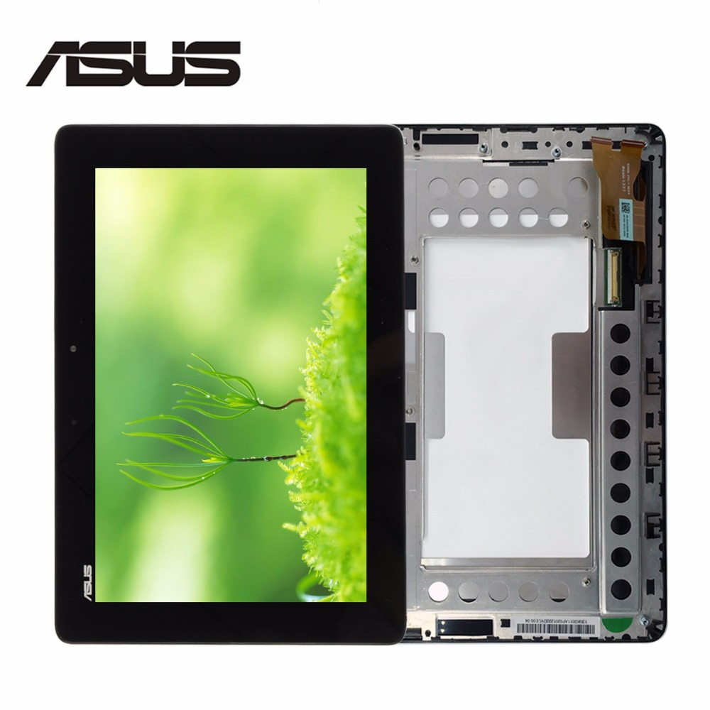 Original for For Asus MeMo Pad Smart ME301 ME301T K001 TF301T LCD Screen Display Touch Digitizer with Frame T01 5280N FPC-1 8V new 10 1 inch case for asus memo pad smart me301 me301t 5280n fpc 1 touch screen digitizer lcd screen display with frame