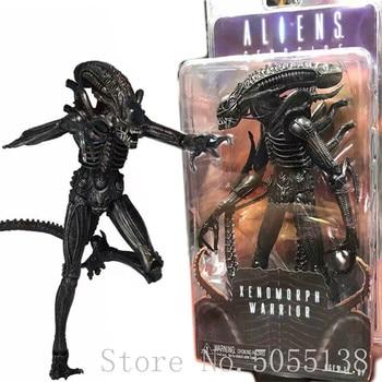 סדרת חייזרים Xenomorph Worrior Alien המלכה בישוף מלכת התקפה PVC איור אסיפה דגם צעצוע 9 cm