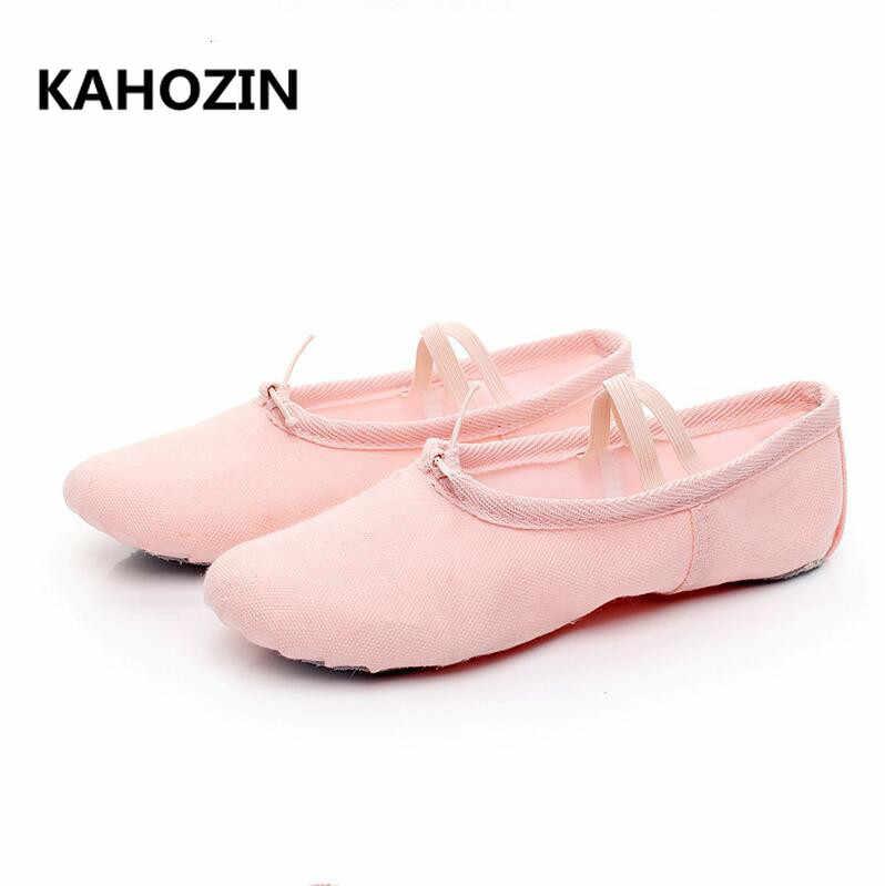 a5cab181 Parte superior de baile de Ballet zapatos de baile Pointe para niños niñas  suave de mujer