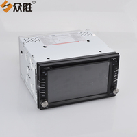2 din 6.2 inch Car DVD Player Auto Radio GPS Navigation Multimedia Windows CE 6.0 Touch Screen with HD Car Rear View Camera