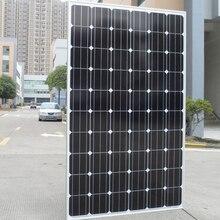 250w Solar Panel 20v 20 Pcs  Zonnepanelen 5000w 5KW 220v 110v Battery Charger Energy System For Home Motorhome Rv