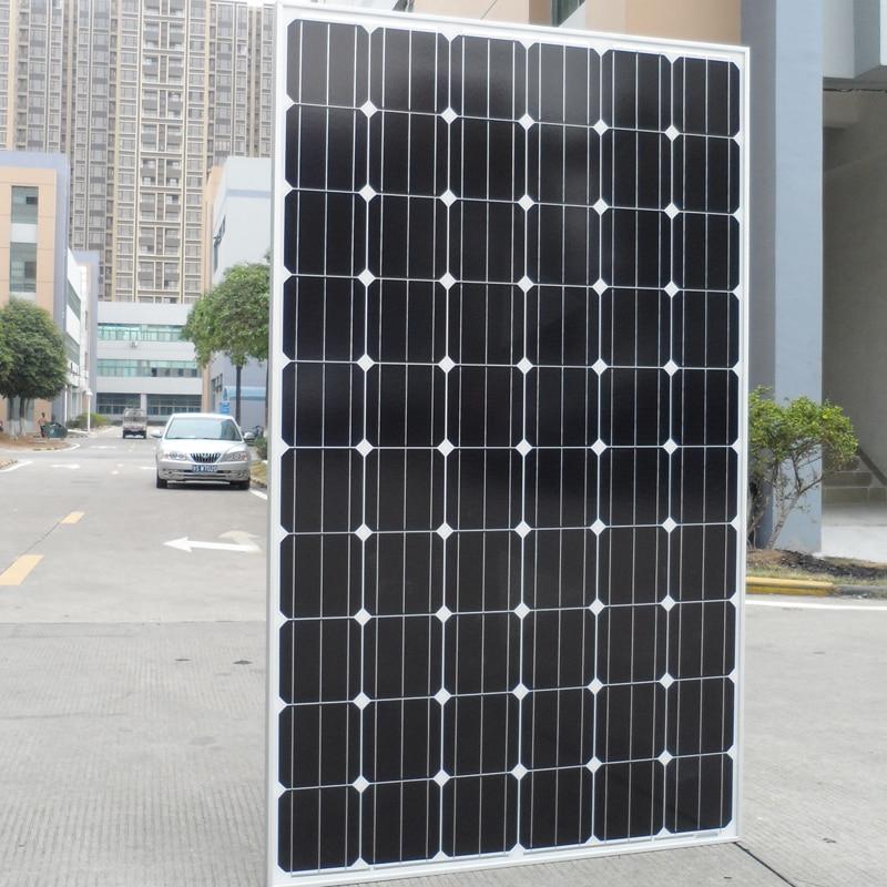 250w panneau solaire 20v 12 pièces système solaire pour la maison 3000W 3KW 220v chargeur de batterie solaire hors réseau Rv bateau camping-cars caravane voiture