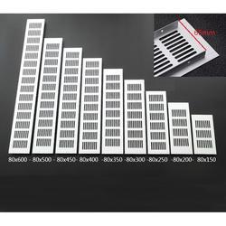 """4 шт./лот 150 мм 6 """"Ширина алюминиевая вентиляционная решетка вентилятор решетка для шкафа обуви шкаф-Кондиционер"""