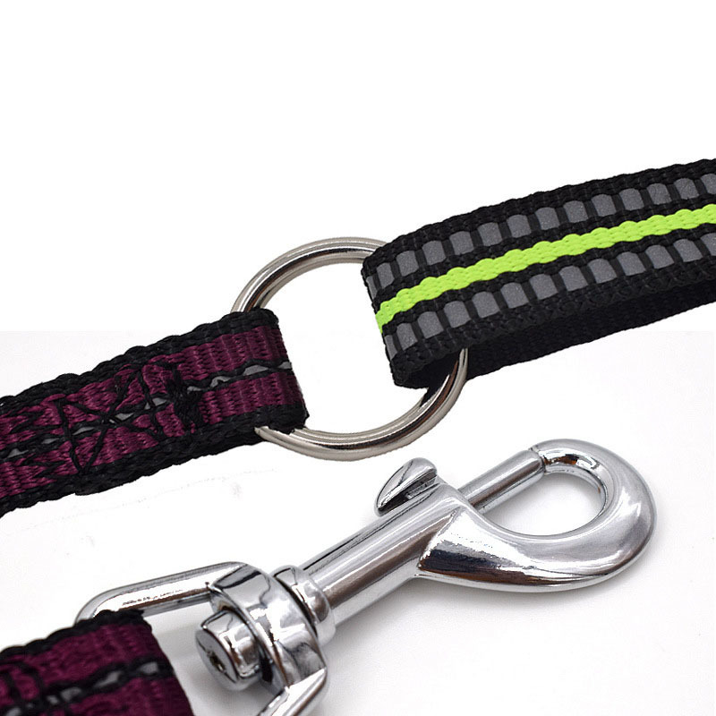 Yooap Hands Free Dog Leash for Running Walking No Pull Dog Harness Retractable Dog Leash with Reflective Stripes Muti Color Size in Leashes from Home Garden