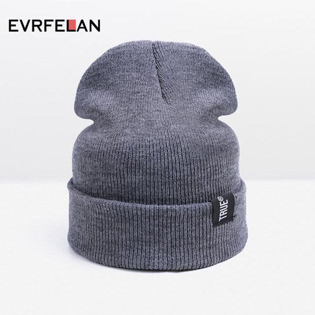 Hot Sale Fashion Knitted Hats Caps For Men Skullies Beanies Women Hats Warm  Winter Hats Solid Color Unisex Cap Drop Shipping 1c36b4ca337