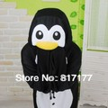 Factory Made nuevo adultos Animal negro pingüino Cosplay pijamas pijamas traje Unisex Sleepsuit
