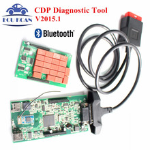 DS V2015.R1 Freie Aktive TCS CDP mit Bluetooth Neue VCI Tcs CDP Pro PLUS CDP Diagnosetool Als CDP MVDIAG Kostenloser Versand