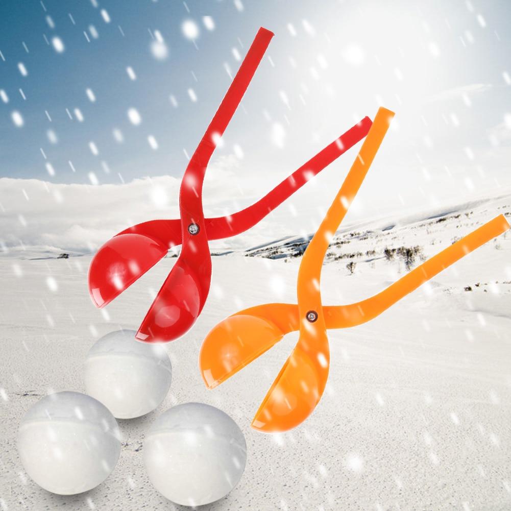 1Pcs Winter Snowball Maker Sand Mold Tool Snow Ball Maker Compact Snowballs Fight Outdoor Sport Snow-balls Toy Random