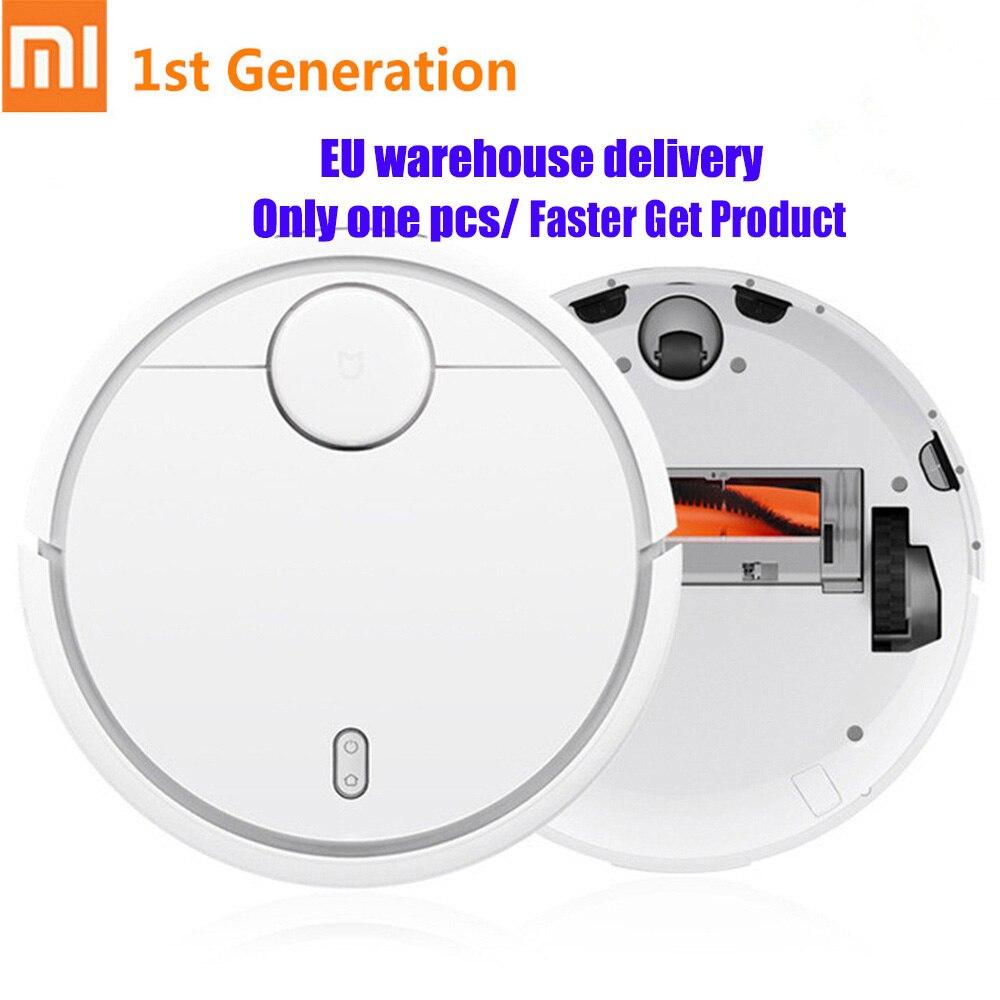 Xiao mi mi Vacuum Cleaner Controle Remoto Aplicativo Pela Primeira Vez-Geração Inteligente Inteligente de Sensores do Sistema de Planejamento de Trajetória de Lavar Esfregar