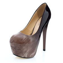 High Heel Shoes Women Pumps Pointed Toe Heels Wedding Shoes Stiletto 16cm Leather Women Party Shoes Sexy Lady Platform Pumps cocoafoal sexy women s genuine leather heel shoes woman shoes low heels plus size 43 pointed toe wedding party pumps stiletto