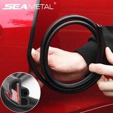 Автомобильные защитные полосы для защиты от царапин, звукоизоляция, уплотнительная прокладка для двери, резиновые уплотнения, универсальные аксессуары для интерьера