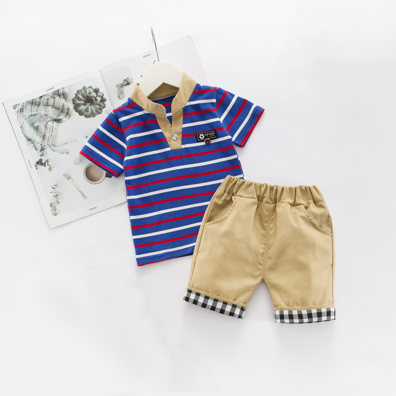 Pants Children Summer Clothing Sets DIIMUU Kids Baby Boys Clothes T-shirt