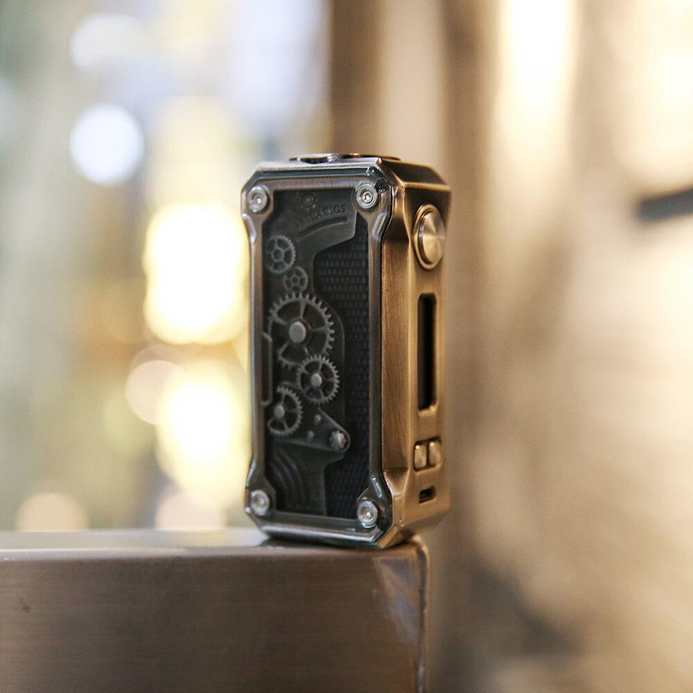 Original 85 W Tesla Punk TC boîte Mod Portable Punk Style Vape pas 18650 batterie boîte Mod électronique Cigarette boîte Mod Vs glisser 157 W - 5
