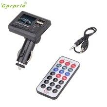 CARPRIE Hot Selling Car Music MP3 Player FM Transmitter Modulator Dual USB Charging SD MMC Remote Gift Mar 23