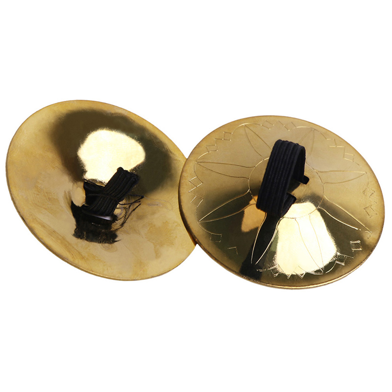 Pro Finger Cymbal 2PCs Belly Dance Finger Cymbals Instrument Parts Accessories