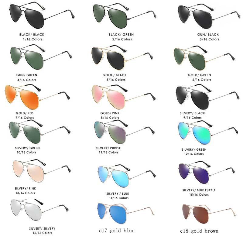 924c48fcb60 Reggaeon HD sunglasses men polarized uv400 high quality 2018 pilot ...