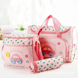 Image 3 - Baby Maternity Bolsa MaternidadeDiaper Bags 3Pcs/Set Diaper Package Changing Nappy With Capacity Bag Nappy Changing Tote T0038