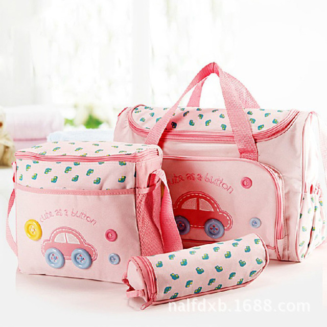 Diaper Bag with Nappy Changing Tote