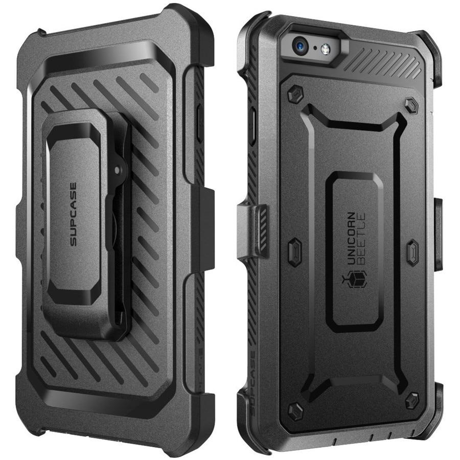"""bilder für Heavy duty hybrid case für apple iphone 6 6 s 4.7 """"mit Clip Rüstung Abdeckung + Geschenk-schirm-schutz Fundas Vollen Schutz Coque"""