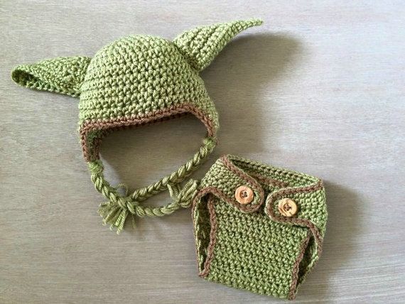 2016 newborn boy star wars yoda crochet hat and diaper cover set 2016 newborn boy star wars yoda crochet hat and diaper cover set baby boy photography props baby set outfits baby fotos green in hats caps from mother dt1010fo